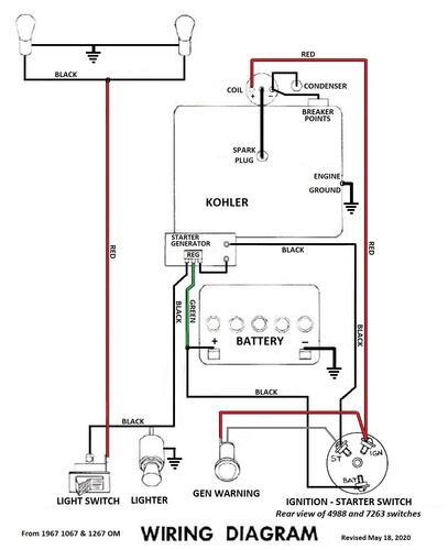 Wiring Diagram Kohler Model K301
