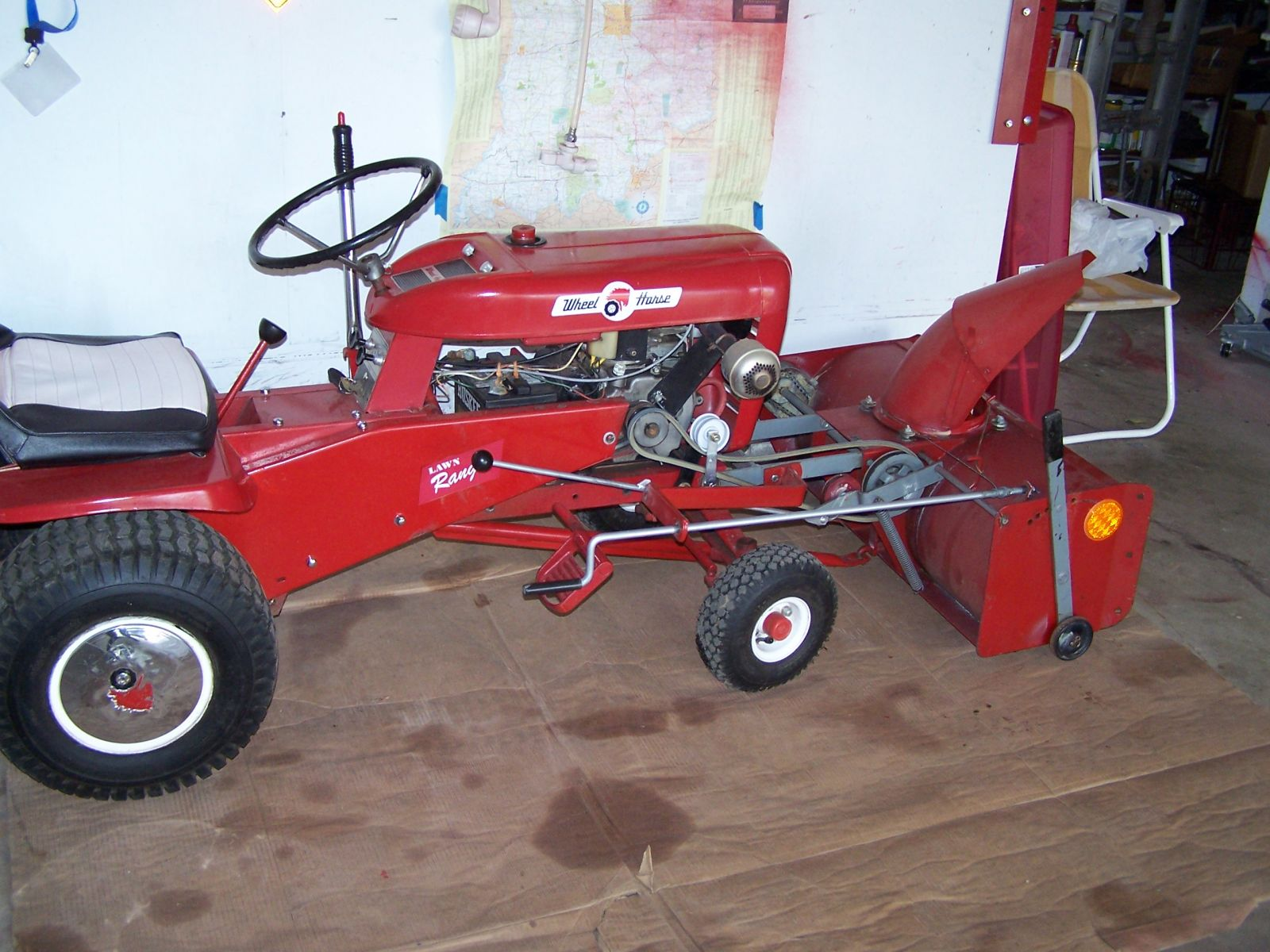 1967 Wheel Horse Lawn Ranger , L-157 tractor