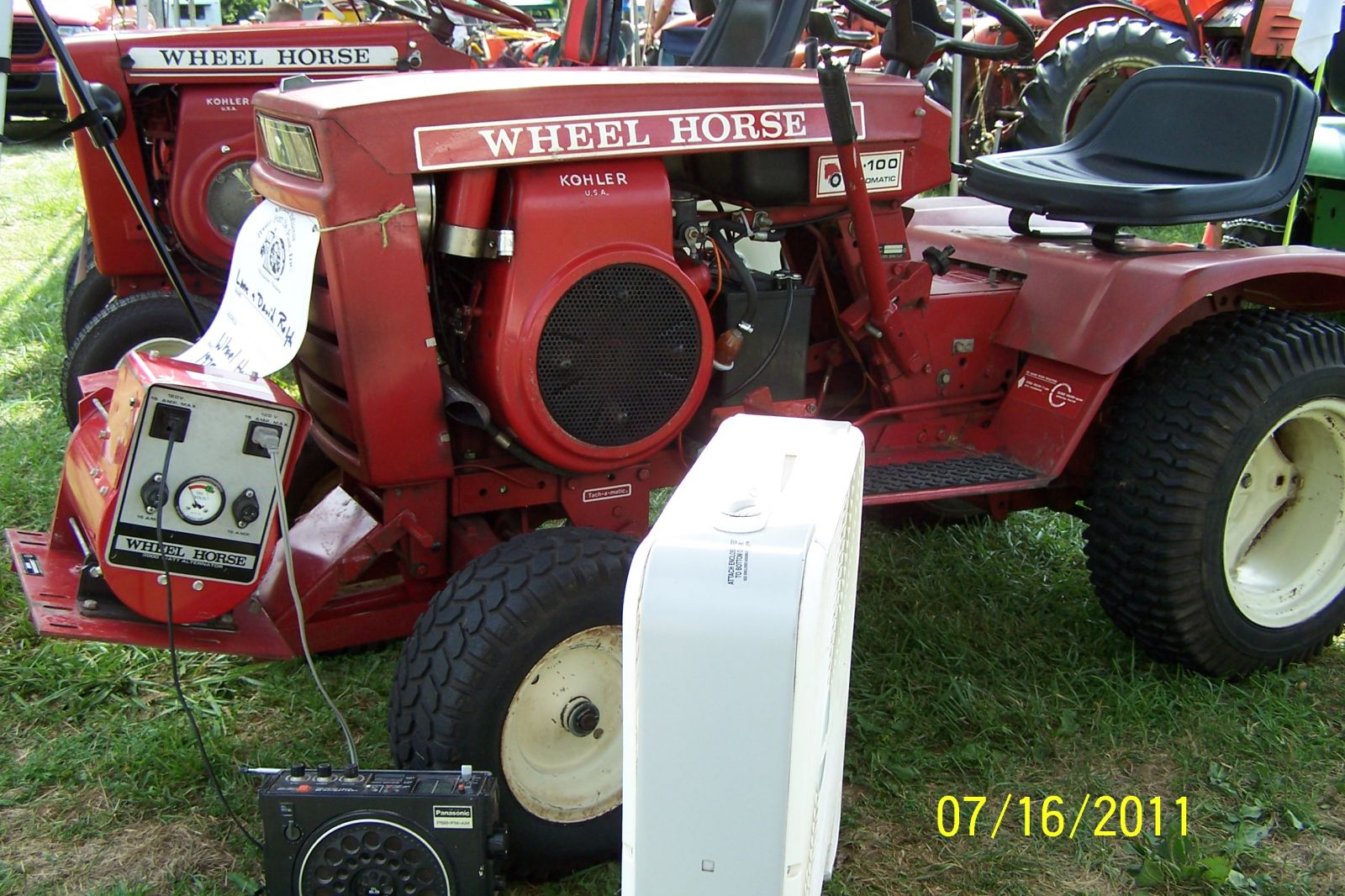 1975 B-100 and Wheel Horse 3000 Watt Generator