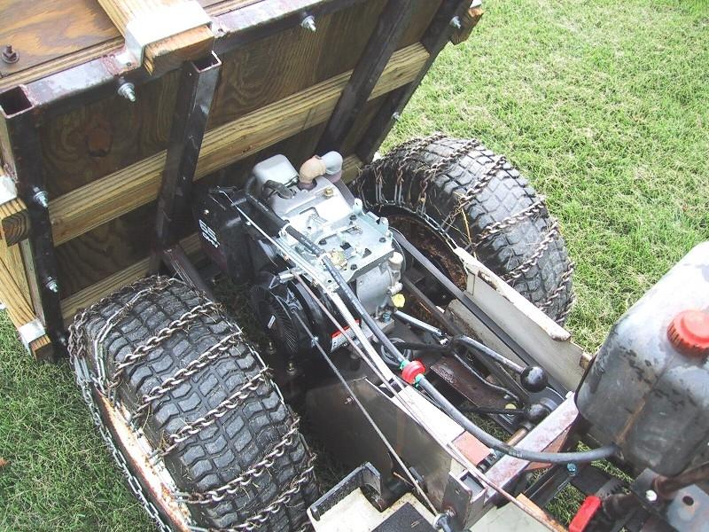 Work Horse engine