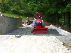 Ponderosa Barn Raising 2014-5