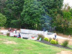 Ponderosa Barn Raising 2014-1