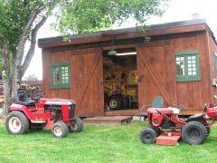 Ponderosa Barn Raising 2014-9