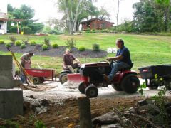 Ponderosa Barn Raising 2014-2