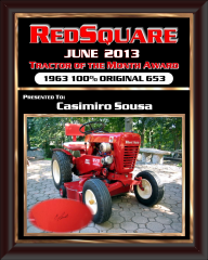 JUNE TRACTOR OF THE MONTH