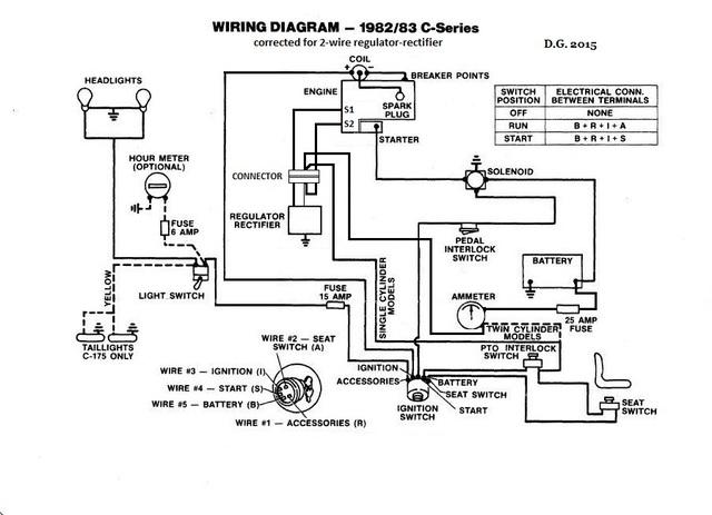 rectifier regulator on a 1984 wheel horse electrical redsquare rh wheelhorseforum com