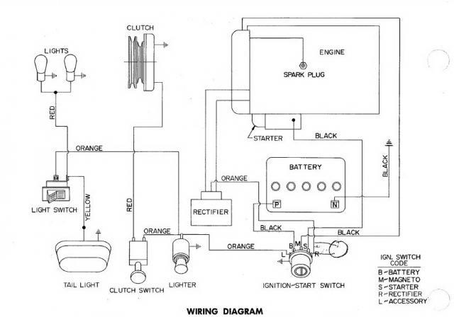 need wire diagram for charger 12 electro - wheel horse electrical