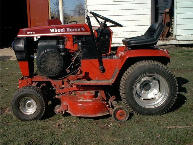 wheelhorse 314 8 year make questions wheel horse tractors Wheel Horse Decal Kits