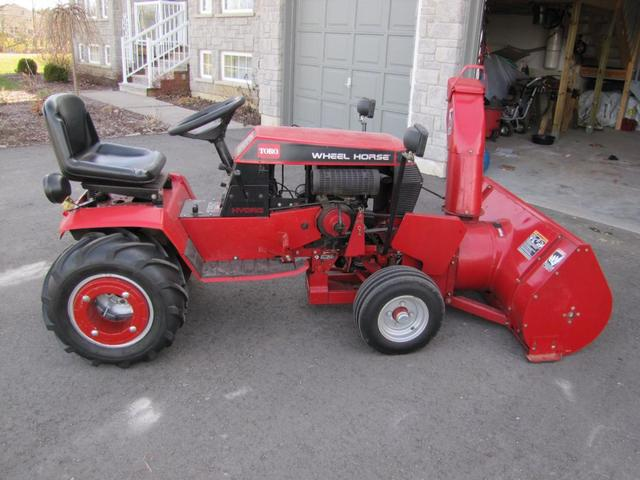 Need 314 H Info Wheel Horse Tractors Redsquare