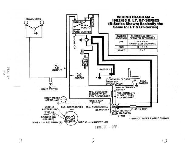C121 Wheel Horse Wiring Diagram Wiring Diagram Home