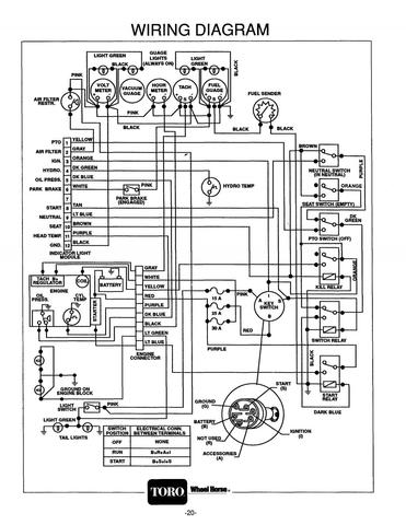 Wheel Horse B100 Wiring Diagram on universal signal switch wiring diagram