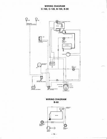 wiring diagram wheel horse electrical redsquare wheel horse forum wheel horse c161 wiring diagram share this