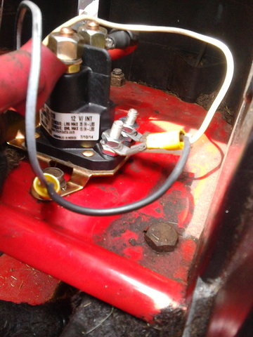Toro wheelhorse wont stay running  Wheel Horse Electrical