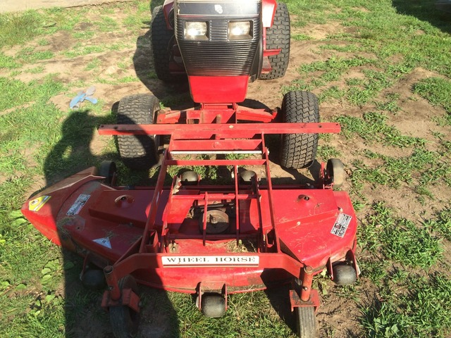 front mower on a 520-h