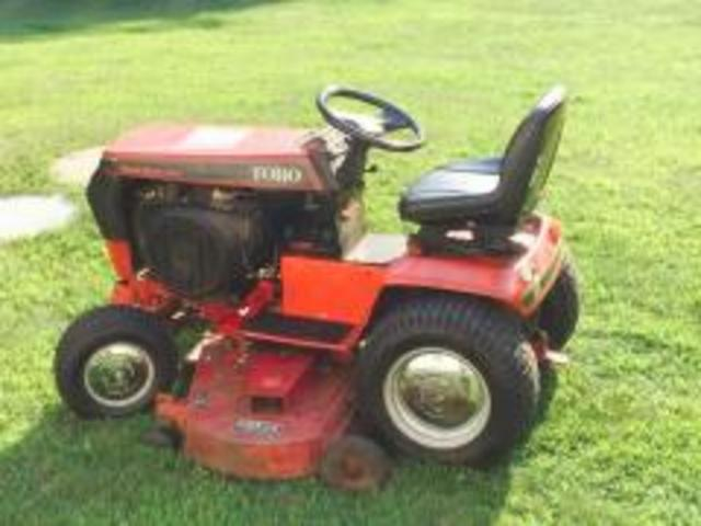 1993 520-H with 60 inch deck!