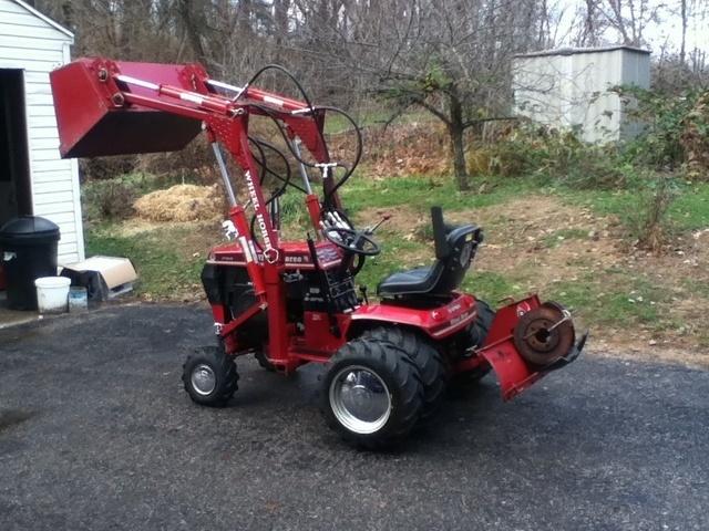 312 8 Wheel Horse Tractors Redsquare Wheel Horse Forum