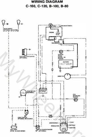 76 C 120 Wiring Help Wheel Horse