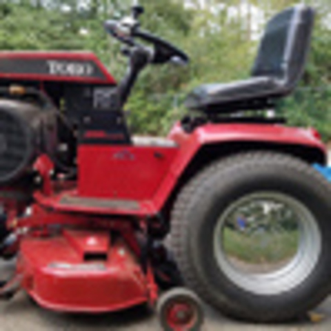 How to remove a mower deck - Implements and Attachments