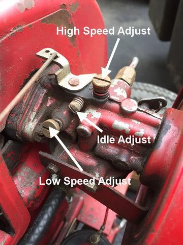 Carter Carburetor Adjustment - Engines - RedSquare Wheel