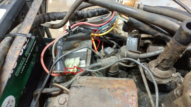 520h ignition coil wires loose black wire  engines