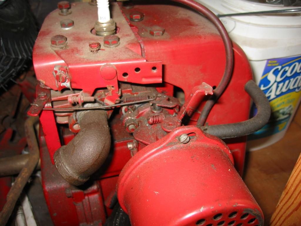 Tecumseh carburetor hookup
