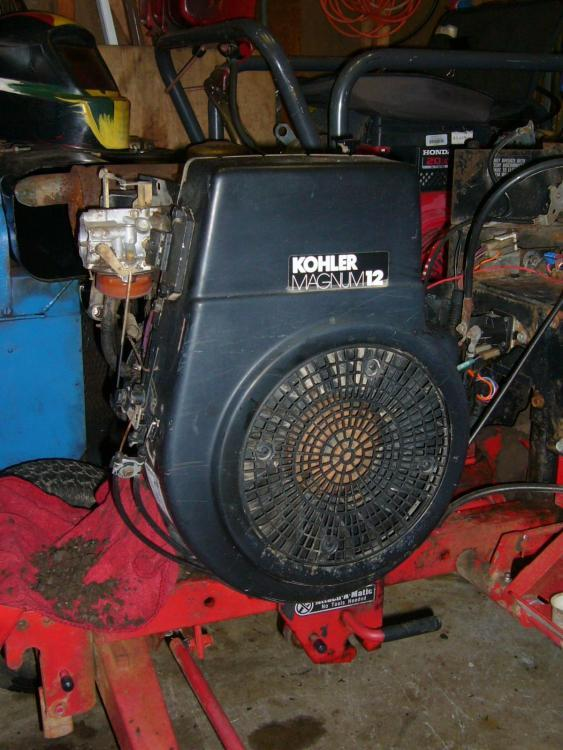 How Much Is An Oil Change >> Kohler M12 K301 - Engines - RedSquare Wheel Horse Forum