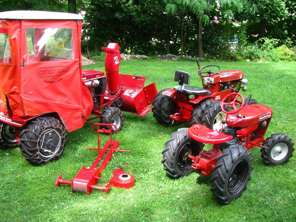 Wheel Horse Cab Enclosure Implements And Attachments Redsquare Wheel Horse Forum