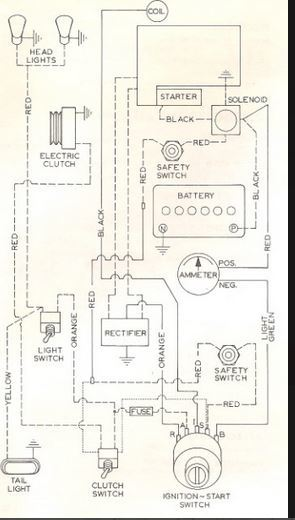 70 U0026 39  Electro 12 Wiring Diagram - Wheel Horse Electrical