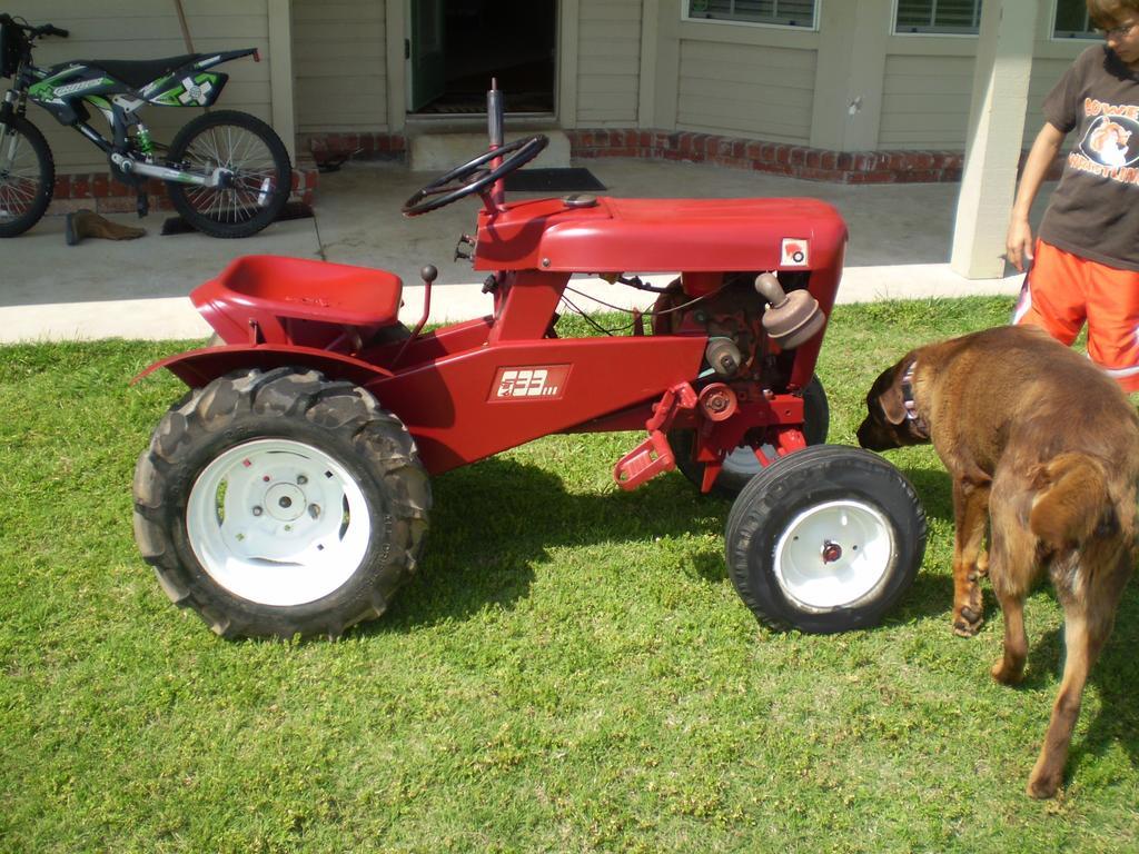 1963 633 Wheel Horse - Wheel Horse Tractors - RedSquare