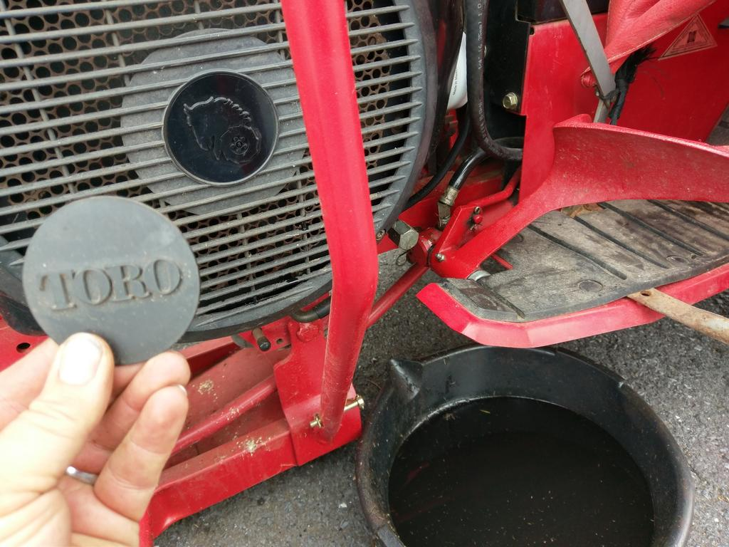 520 H Oil Change Wheel Horse Tractors Redsquare Wheel
