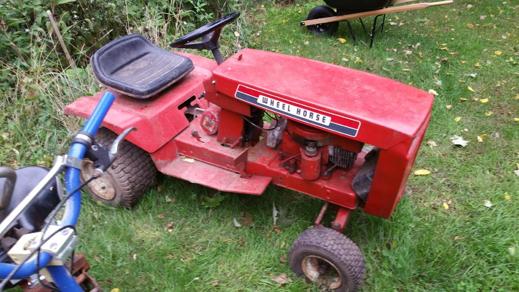 Can you identify this model? - Wheel Horse Tractors