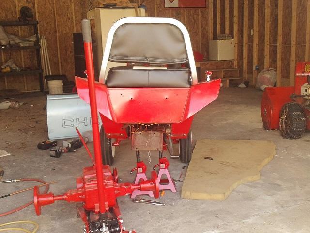 3rd removal of wheel horse tranny 001.JPG