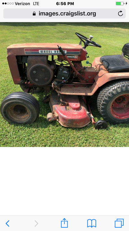 Charger 12 - Wheel Horse Tractors - RedSquare Wheel Horse Forum