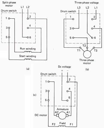 Calling all Sparky's - wiring 1ph drum switch on lathe - Tools and  Equipment - RedSquare Wheel Horse ForumWheel Horse Forum
