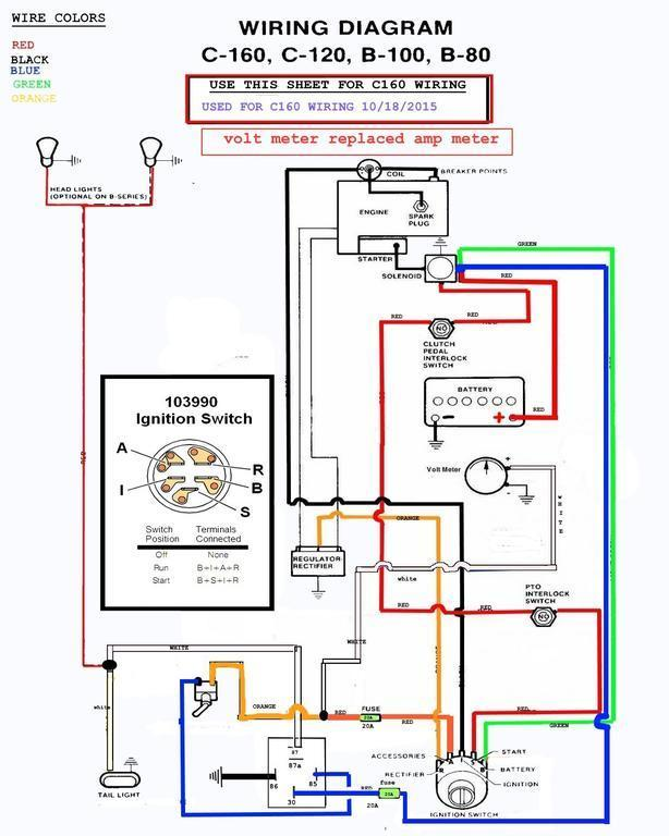 wiring diagrams to help you understand how it is done. - electrical -  redsquare wheel horse forum  wheel horse forum