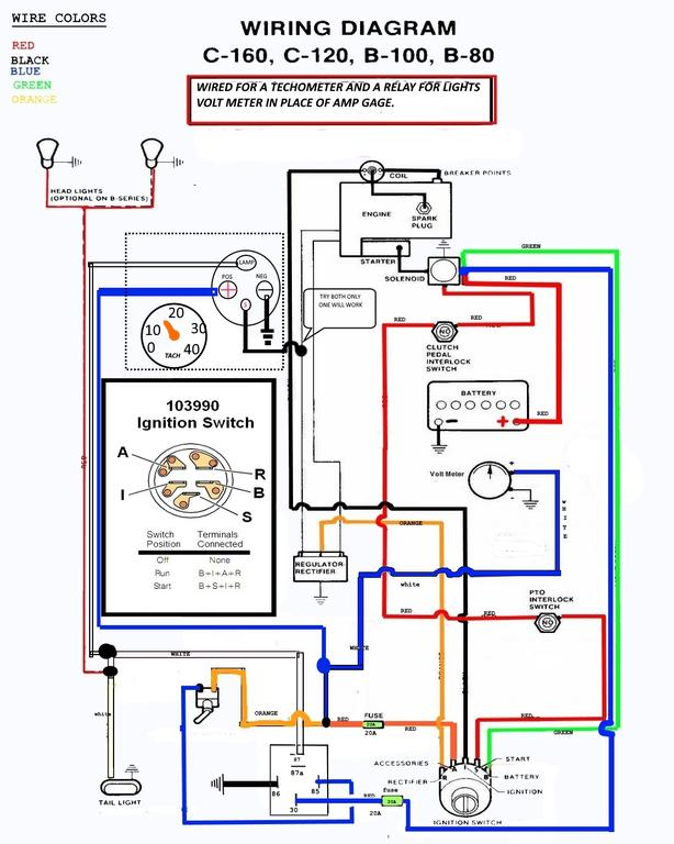 Wiring diagrams to help you understand how it is done. - Electrical -  RedSquare Wheel Horse ForumWheel Horse Forum