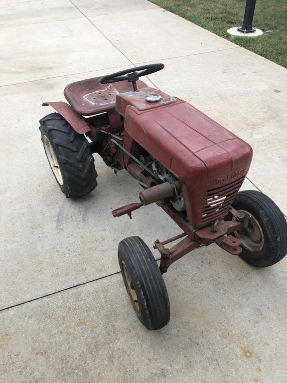 Help Me Identify Year And Model - Wheel Horse Tractors