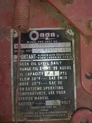 onan bf ms 2929E motor