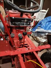 1974 wheel horse C-160 8 Speed restored dash.jpg